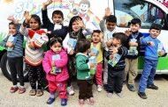 """Mülteci çocuklar da """"Süt Kuzusu"""" oldu!"""