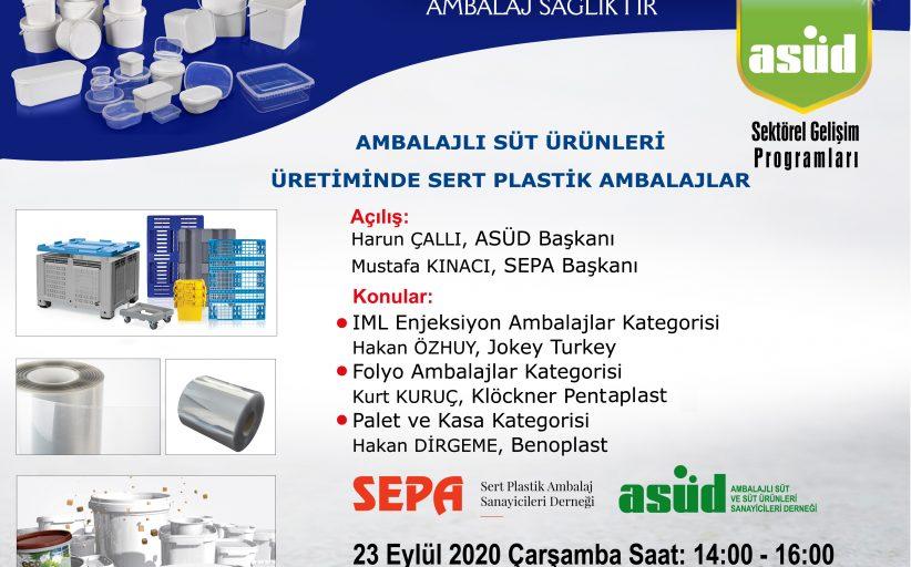 Ambalajlı Süt Ürünleri Üretiminde Sert Plastik Ambalajlar Eğitim